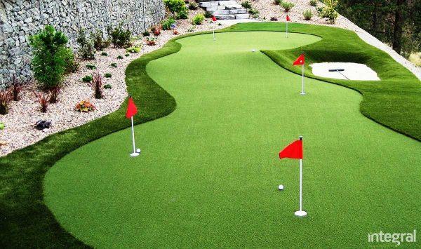 küçük golf sahası